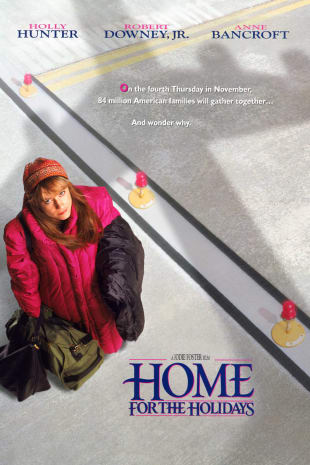 movie poster for Home For the Holidays