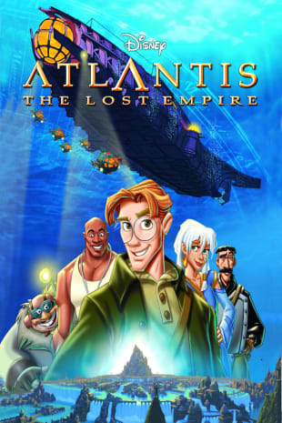 movie poster for Atlantis: The Lost Empire