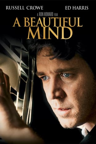 movie poster for A Beautiful Mind