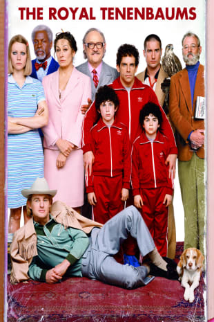 movie poster for The Royal Tenenbaums