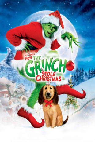 movie poster for Dr. Seuss' How the Grinch Stole Christma