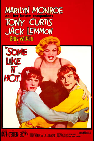 movie poster for Some Like It Hot (1959)
