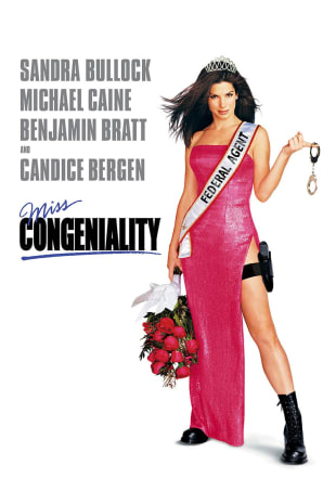 movie poster for Miss Congeniality