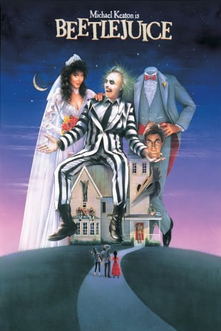 movie poster for Beetlejuice