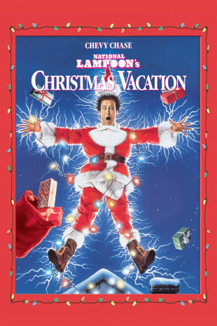 movie poster for Nat'l Lampoon's Christmas Vacation