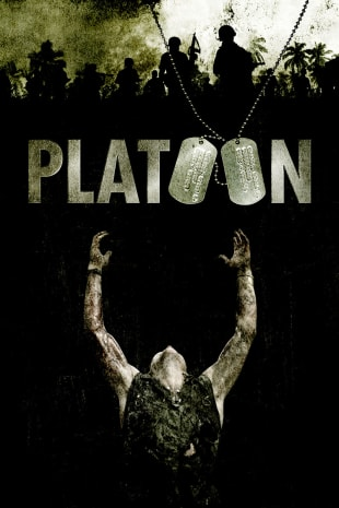 movie poster for Platoon