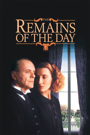 movie poster for The Remains of the Day