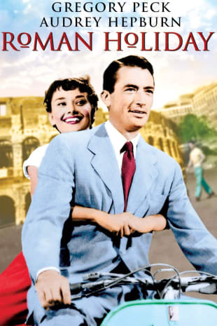 movie poster for Roman Holiday (1953)