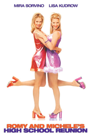 movie poster for Romy & Michele's High School Reunion
