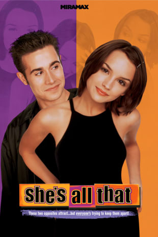 movie poster for She's All That