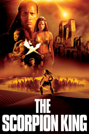 movie poster for The Scorpion King