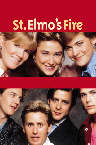 movie poster for St. Elmo's Fire