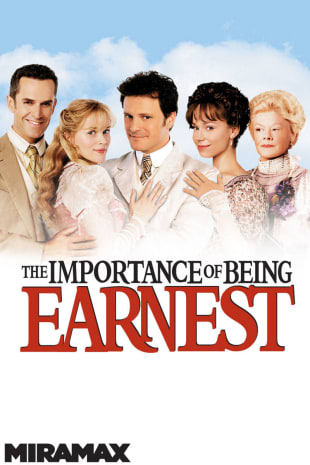 movie poster for The Importance of Being Earnest