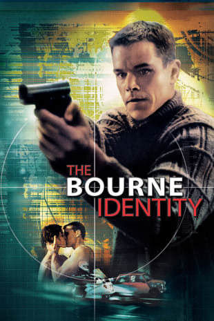 movie poster for The Bourne Identity