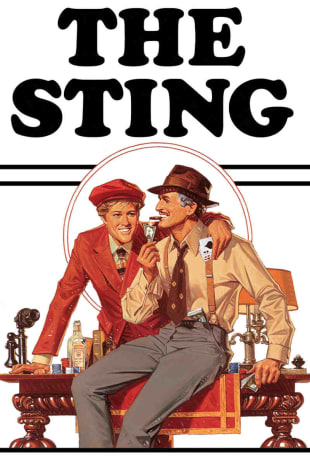 movie poster for The Sting