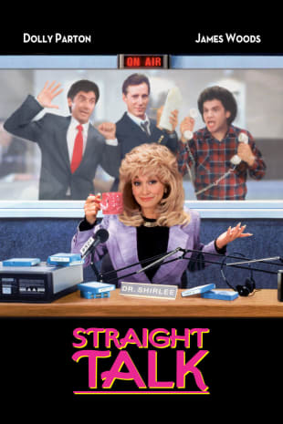 movie poster for Straight Talk
