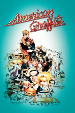 movie poster for American Graffiti