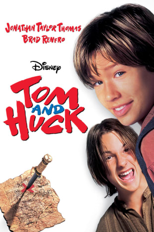 movie poster for Tom and Huck