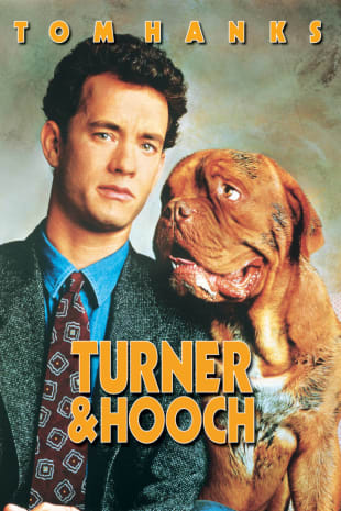 movie poster for Turner and Hooch