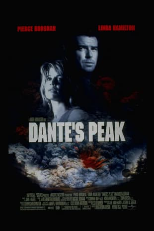 movie poster for Dante's Peak
