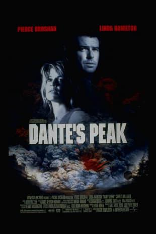movie poster for Dante's Peak