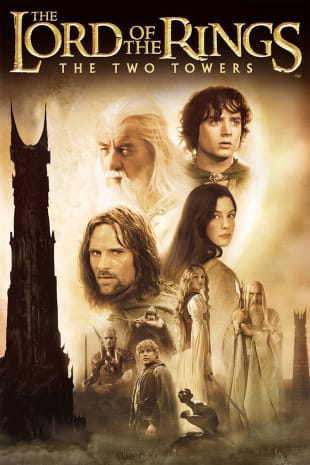 movie poster for Lord of the Rings: The Two Towers
