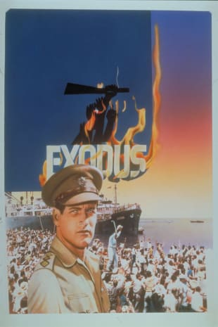 movie poster for Exodus (1961)