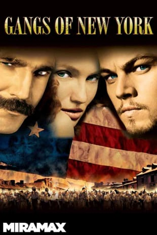 movie poster for Gangs of New York (2002)