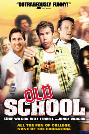 movie poster for Old School