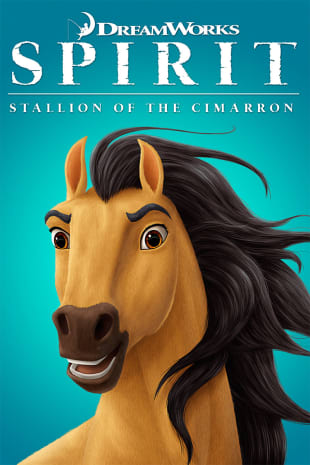 movie poster for Spirit: Stallion of the Cimarron