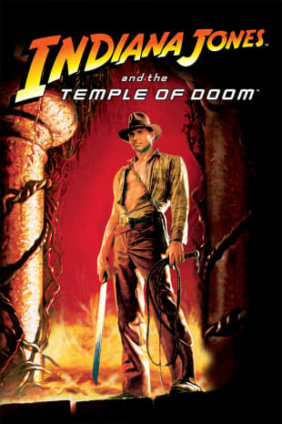 movie poster for Indiana Jones and the Temple of Doom