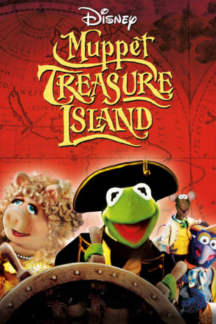 movie poster for Muppet Treasure Island