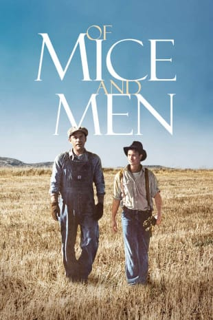 movie poster for Of Mice and Men