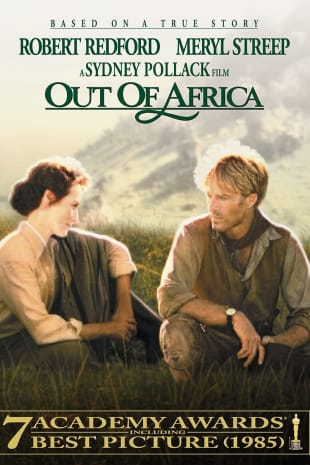movie poster for Out of Africa