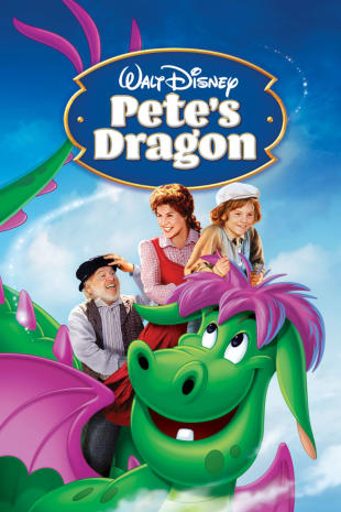 movie poster for Pete's Dragon (1977)