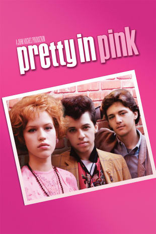 movie poster for Pretty in Pink