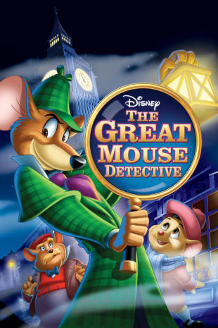movie poster for The Great Mouse Detective (1986)
