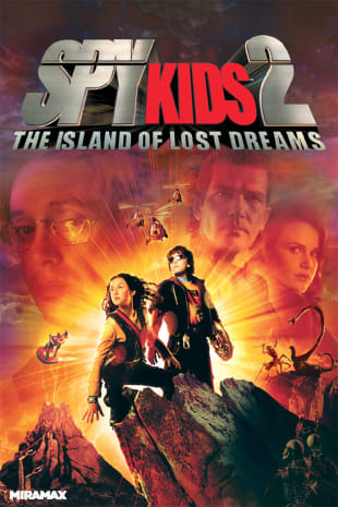 movie poster for Spy Kids 2: The Island of Lost Dreams