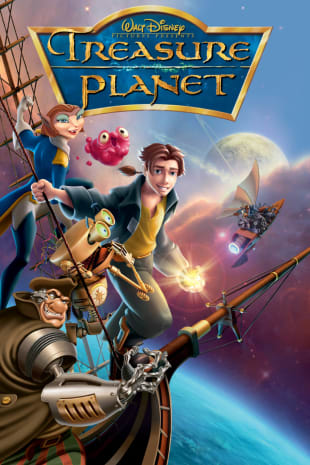 movie poster for Treasure Planet (2002)