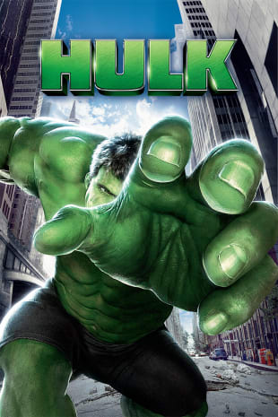 movie poster for The Hulk (2003)