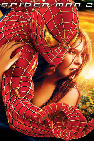 movie poster for Spider-Man 2