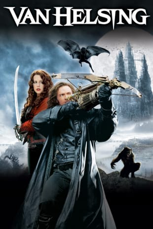 movie poster for Van Helsing