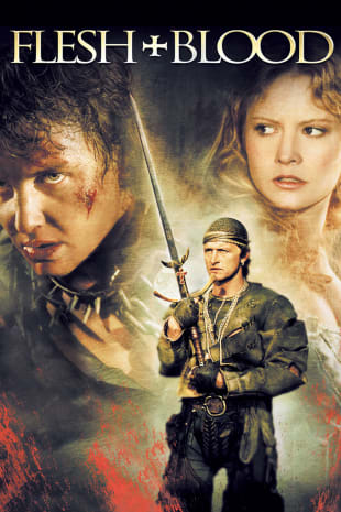 movie poster for Flesh And Blood (1985)