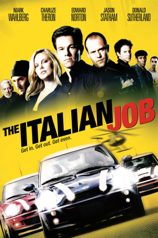 movie poster for The Italian Job