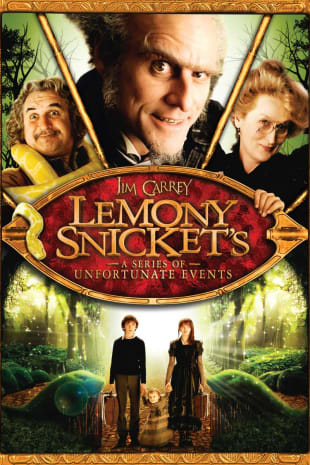 movie poster for Lemony Snicket's A Series Of Unfortunate Events