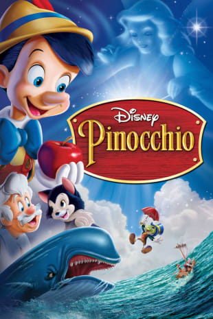 movie poster for Pinocchio (1940)