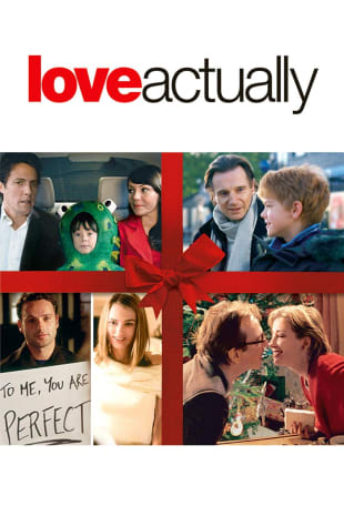 movie poster for Love Actually