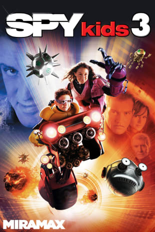 movie poster for Spy Kids 3D: Game Over