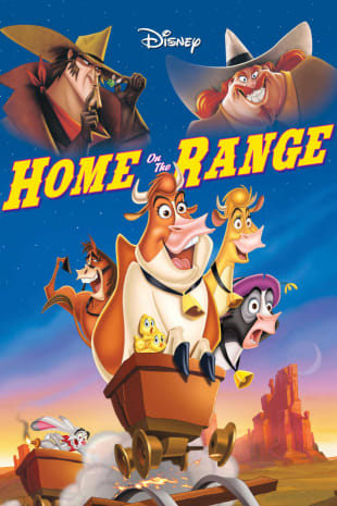 movie poster for Home On The Range