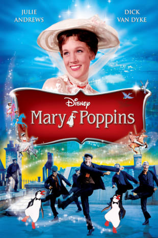 movie poster for Mary Poppins